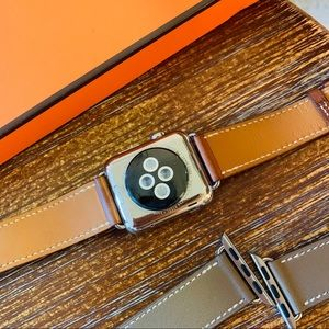 Hermes Accessories - HERMES APPLE WATCH TWO BANDS